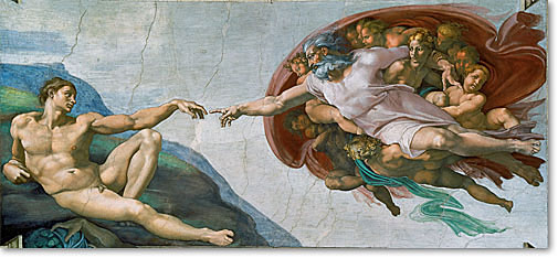 Michelangelo_The-Creation-of-Adam